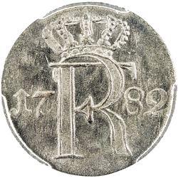 PRUSSIA: Friedrich II, 1740-1786, AR 1/24 thaler, 1782-A. PCGS MS65