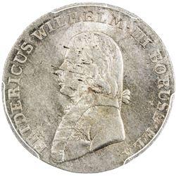 PRUSSIA: Friedrich Wilhelm III, 1797-1840, AR 4 groschen, 1804-A. PCGS MS63