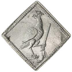 SILESIA-BRESLAU: klippe medal (17.42g), 1731. EF-AU