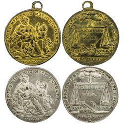 GERMANY: medal set, 1817. UNC
