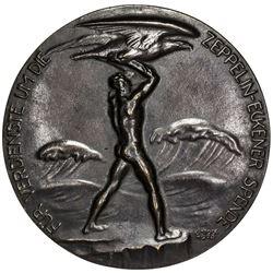 GERMANY: AE medal (439.5g), 1925. VF-EF