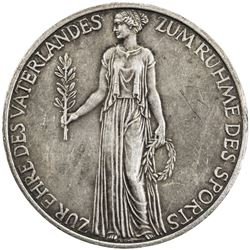 GERMANY: AR medal (22.41g), 1936