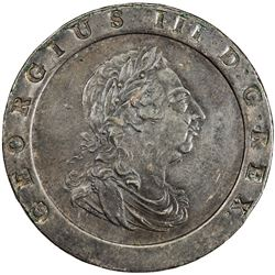 GREAT BRITAIN: George III, 1760-1820, AE 2 pence, 1797. EF
