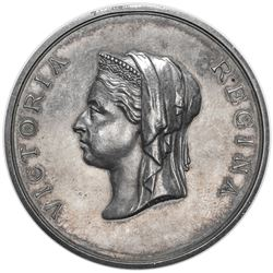 GREAT BRITAIN: Victoria, 1837-1901, AR medal (46.78g), 1883. AU