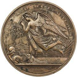 IRELAND: AE medal (171.3g), 1865. AU