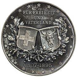 URI: AR medal (51.98g), 1895. SP