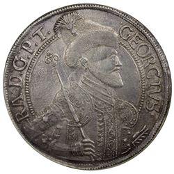 TRANSYLVANIA: Georg Rakoczi II, 1648-1660, AR thaler, Nagybanya, 1650-NB. NGC UNC