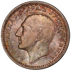 YUGOSLAVIA: Alexander I, 1921-1934, AR 50 dinara, 1932(k). PCGS MS66