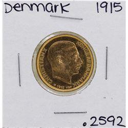 1915 Denmark 20 Kroner Gold Coin