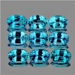 Natural  AAA Blue Zircon 5x3 MM{Flawless-VVS1}