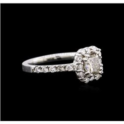 1.87 ctw Diamond Ring - 14KT White Gold