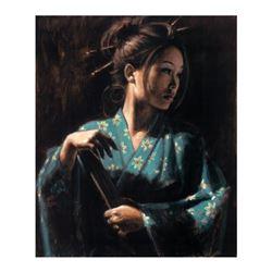 Geisha En Turquesa by Perez, Fabian