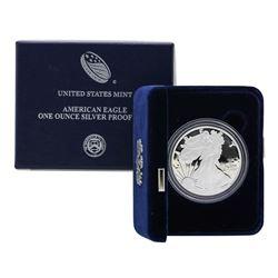 2010 $1 American Silver Eagle Proof Coin w/ Box