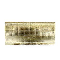Peggy Sparkly Gold Evening Clutch