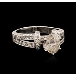 14KT White Gold 1.64 ctw Diamond Ring