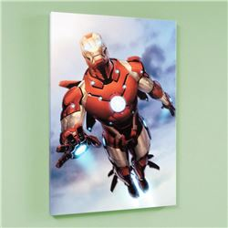 Invincible Iron Man #25 by Marvel Comics