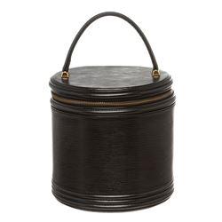 Louis Vuitton Black Epi Leather Cannes Vanity Case