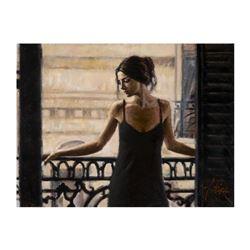 Luciana at the Balcony by Perez, Fabian