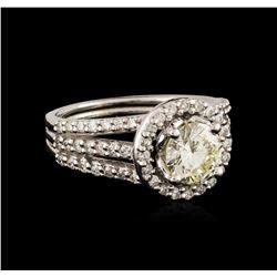 14KT White Gold 1.93 ctw Diamond Ring
