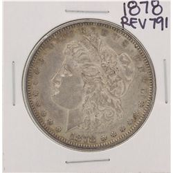 1878 Reverse 79' $1 Morgan Silver Dollar Coin