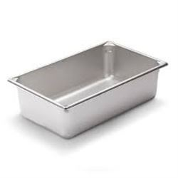 Qty 6 Vollrath 30062 Steam Table / Hotel Pan - Full Size,  6  Deep