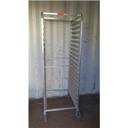 Stainless Steel Sheet Pan Rolling Rack