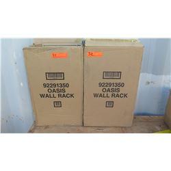 Qty 2 Ecolab Oasic Wall Rack 92291350