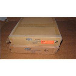 Qty 2 Uline Wire Shelving Caster Set (4 per set)