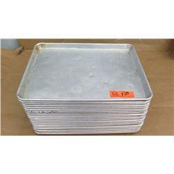 Qty 20 1/2 Size Sheet Pans