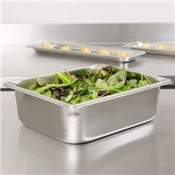 """2 Boxes (6 per box) Vollrath 30242 Steam Table / Hotel Pan - 1/2 Size, 4"""" Deep"""