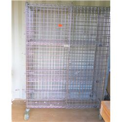 Uline Enclosed Wire Shelving With Doors