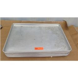 Approx 10 Qty Full Size Sheet Pans - Used