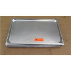 """Approx 10 Full Size 1"""" Hotel Pans"""