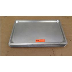 "Approx 10 Full Size 1"" Hotel Pans"