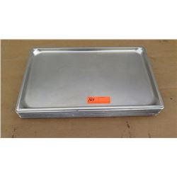 "Qty Approx 20 2"" Full Size Hotel Pans, Qty 7 6"" Full Size Hotel Pans, Qty Approx 15 4"" Full Size Hot"