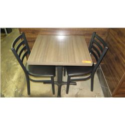 Qty 2 Tables and 4 Chairs (Pick-up from Mililani)