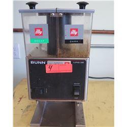 Bunn LPG-2E Double Hopper Fine Grind Coffee Grinder
