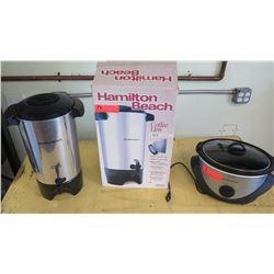 Hamilton Beach 42-Cup Coffee Dispenser and Pot
