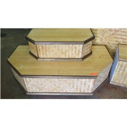 Wooden Stair-Step Risers (Display Stand)