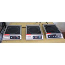 Intertek 6500 Pro-Chef 1800 Countertop Induction Burner (1pc) & Eurodib 3097-110 Countertop Inductio
