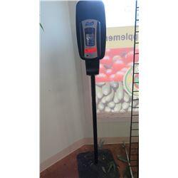 Purell Pole-Mounted Hand Sanitizer Dispenser