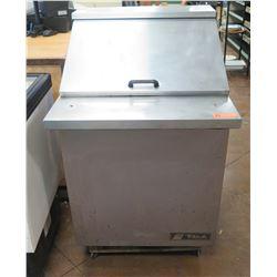True TSSU-27-12M Refrigerated Sandwich/Salad Prep Station, Holds 12 1/6 Pans