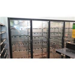 Hussman KR26A-115-BB Walk-In 4 Door Merchandiser Cooler