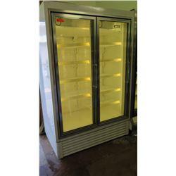 Hussman RL-5 Glass Door Merchandiser Freezer / HGL-2-B Refrigerator