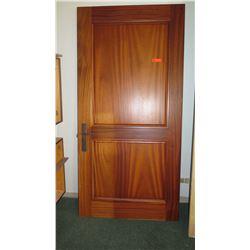 Large Wood Door