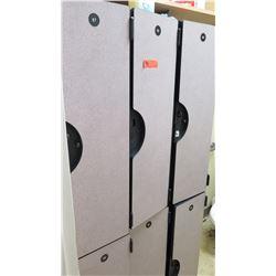 Set of 6 Stacking Lockers