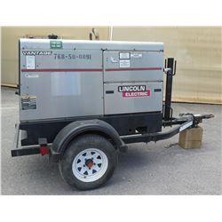 2011 Lincoln Electric Vantage 500 Welder Generator -on Trailer s/n U1111100691