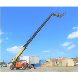 "2013 JLG G10-55A 10000LB TELEHANDLER FORKLIFT - LIFT 74"" TILT CARRIAGE 2334.7 Hours s/n 160049981"
