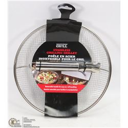 BACKYARD GRILL STAINLESS GRILLING SKILLET