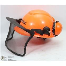 STIHL FORESTRY HELMET W/ FACE AND HEARING